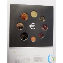 Portogallo 2016 - Divisionale Euro Ufficiale - BU 8 valori monete
