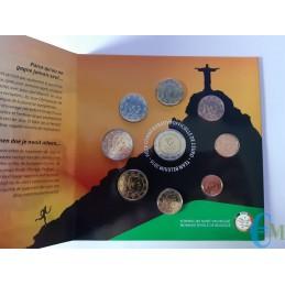 Belgio 2016 - Divisionale Euro Ufficiale - 9 valori Giochi Olimpici di Rio monete