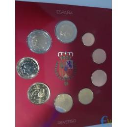Spagna 2015 - Divisionale Euro Ufficiale - 9 valori monete