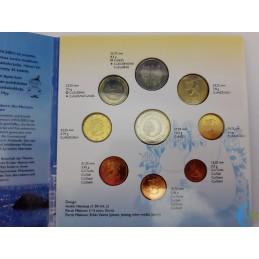 Finlandia 2004 - Divisionale Euro Ufficiale - FDC 8 valori Allargamento UE monete