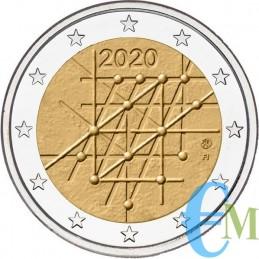 Finlandia 2020 - 2 euro 100° Università di Turku