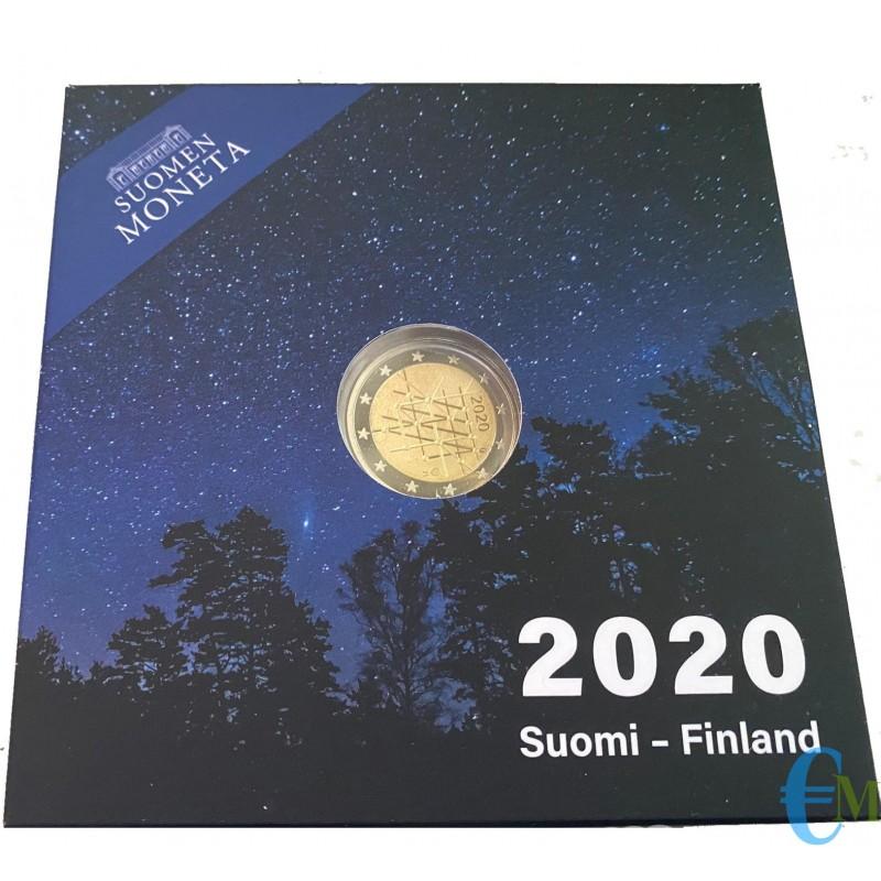 Finlandia 2020 - 2 euro Proof 100° Università di Turku