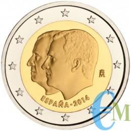 Spagna 2014 - 2 euro commemorativo proclamazione di Filippo VI.