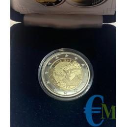 Belgio 2020 - 2 euro Proof 630° nascita Jan van Eyck moneta