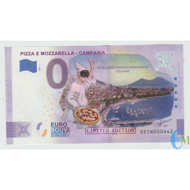 Italia - 0 euro Pizza e Mozzarella Campania Colorata
