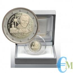 Vaticano 2020 - 2 euro Proof 100° San Giovanni Paolo II