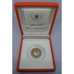 2 euro Proof 200° della Gendarmeria Vaticana cofanetto