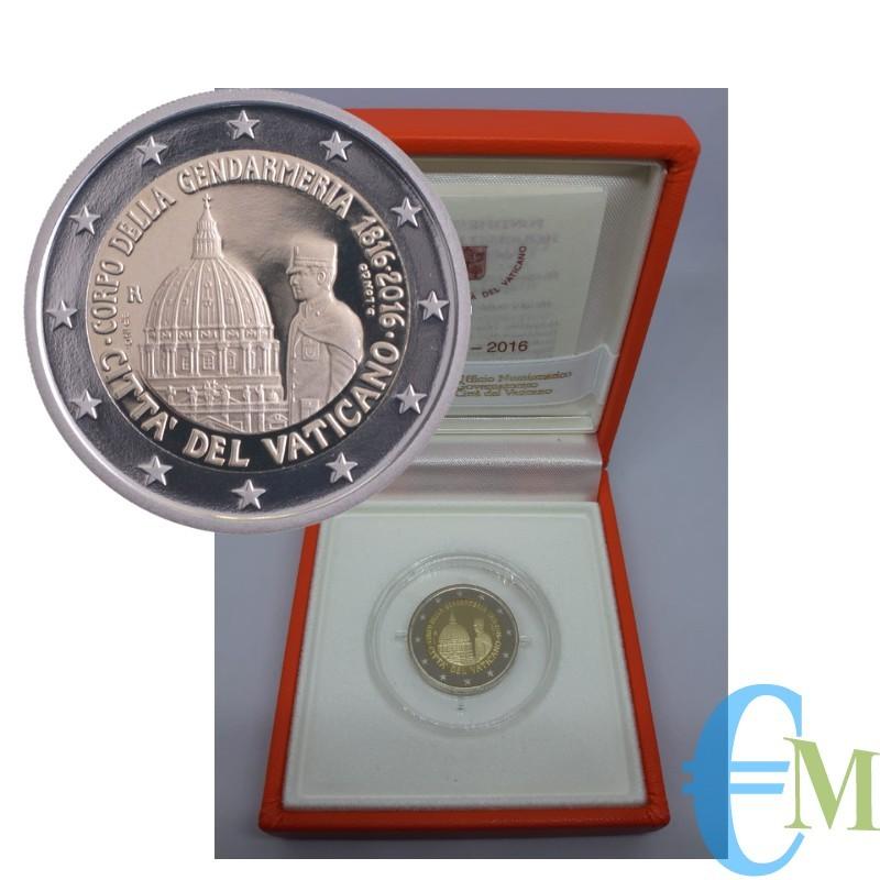 2 euro Proof 200° della Gendarmeria Vaticana