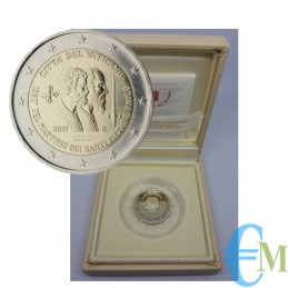 2 euro Proof 1950° Martirio dei Santi Pietro e Paolo