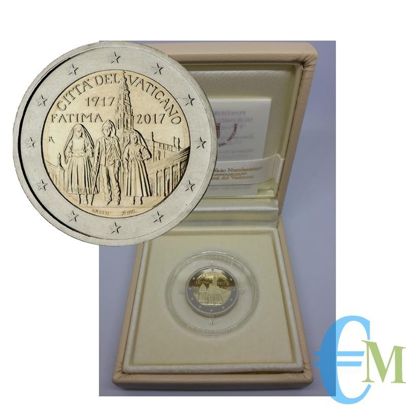 2 euro Proof Centenario Apparizioni Madonna di Fatima