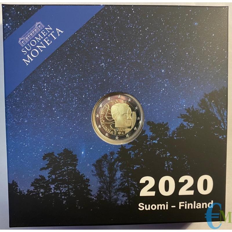 2 euro Proof 100° nascita di Vaino Linna