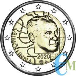 2 euro Proof 100° nascita di Vaino Linna monete