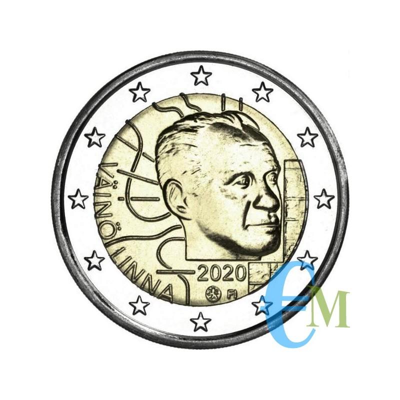 2 euro 100° nascita Vaino Linna moneta