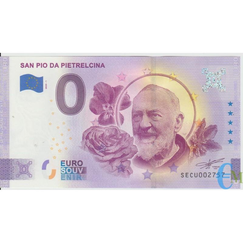 Italia - 0 euro San Pio da Pietrelcina - Padre Pio