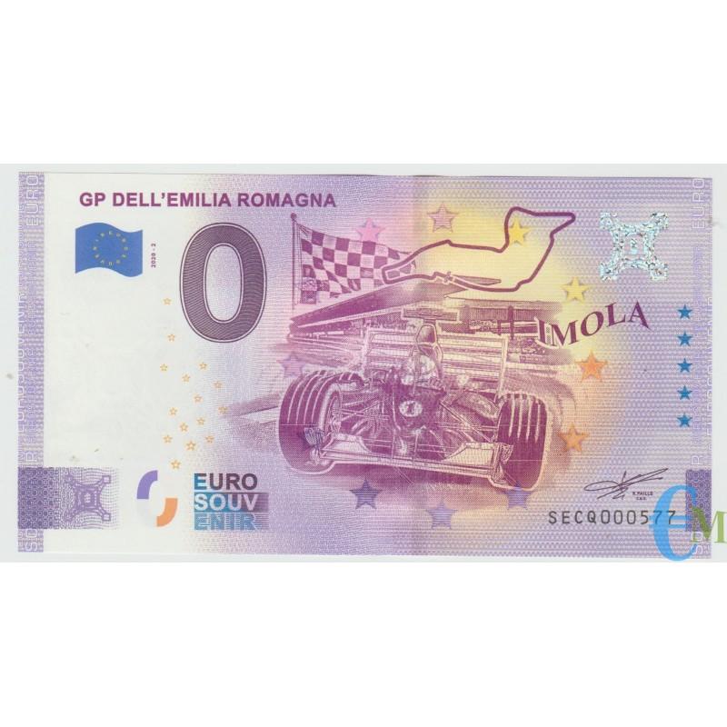 Italia - 0 euro Formula Uno - GP dell'Emilia Romagna - Imola