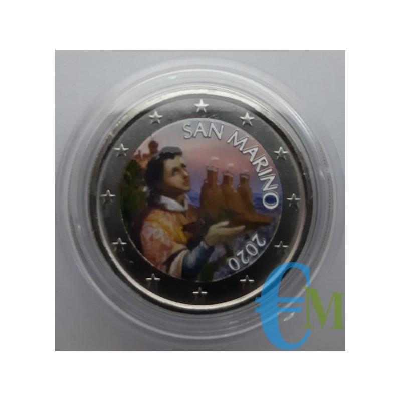 San Marino 2020 - 2 euro colorato