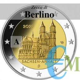 2 euro Cattedrale di Magdeburgo - zecca A