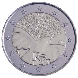 Francia 2015 - 2 euros 70 años de paz en Europa