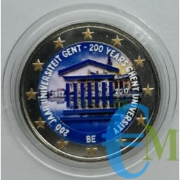 copy of Belgio 2017 - 2 euro Università di Gand