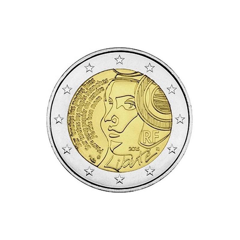 Francia 2015 - 2 euro commemorativo 225° anniversario della Fete de la Federation.