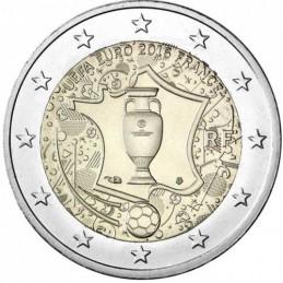 Francia 2016 - 2 euro commemorativo campionato europeo di calcio.