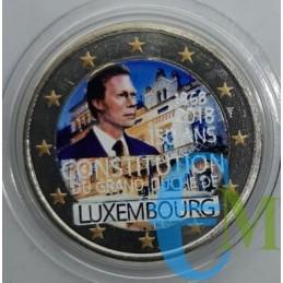 2 euro colorato 150° Costituzione