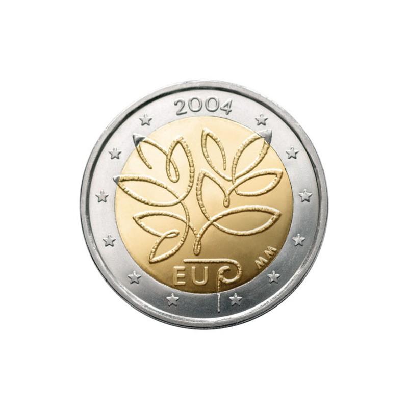 Finlandia 2004 - 2 euro commemorativo 5° allargamento Unione Europea.