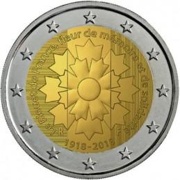 Francia 2018 - 2 euro commemorativo il centenario della fine della prima guerra mondiale.
