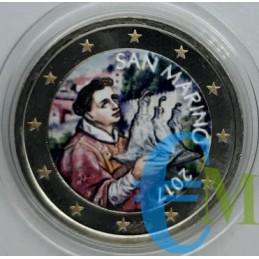 San Marino 2017 - 2 euro colorato