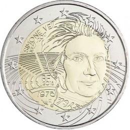 Francia 2018 - 2 euro commemorativo Simone Veil (1927 - 2017), politica francese.
