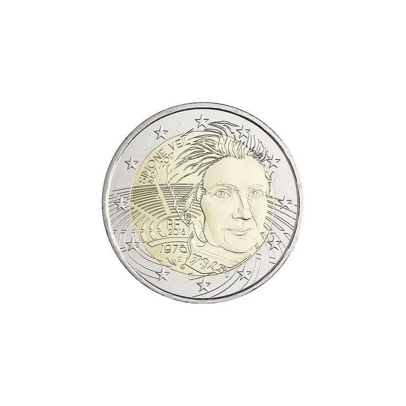 France 2018 - 2 euro Simone Veil