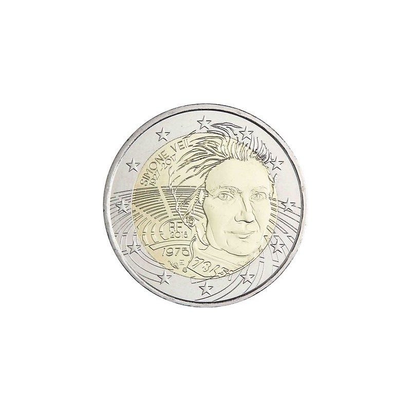 France 2018 - 2 euros Simone Veil.