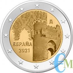 2 euro città storica di Toledo