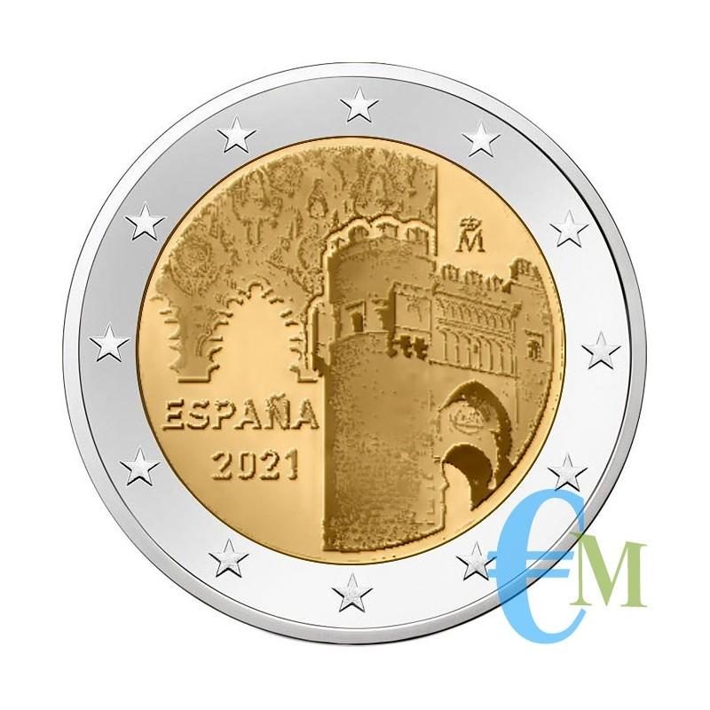 Spain 2021 - 2 euro historic city of Toledo - 12th coin