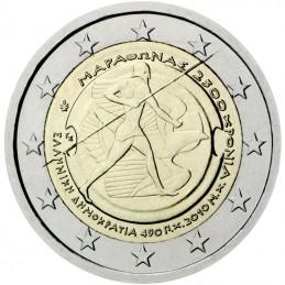 Grecia 2010 - 2 euro commemorativo 2500° anniversari della battaglia di Maratona.