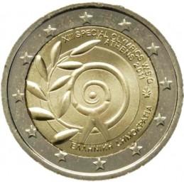 Grecia 2011 - 2 euro commemorativo giochi Olimpiadi Speciali a Atene.
