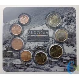 Andorra 2020 - Divisionale Euro Ufficiale - 8 valori interno
