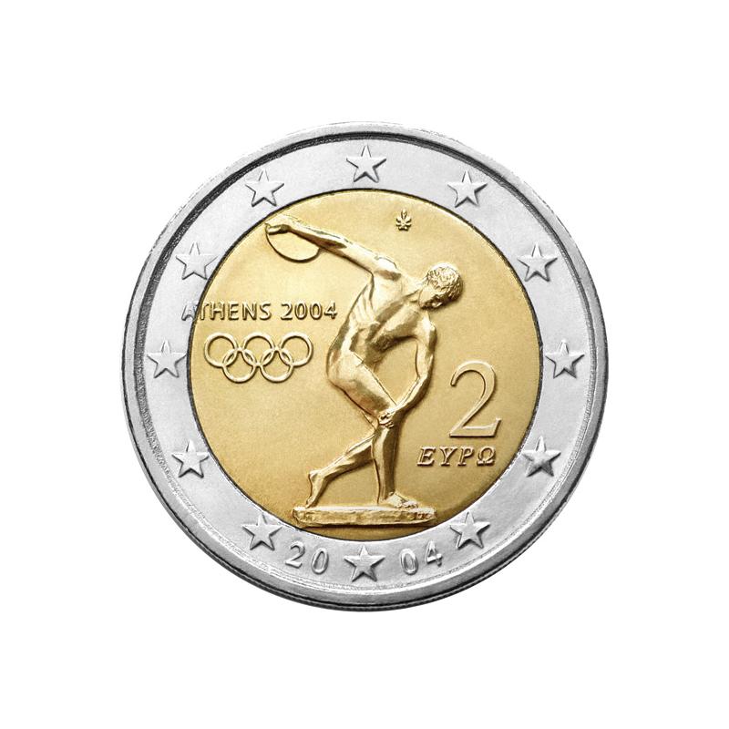 Grecia 2004 - 2 euro commemorativo giochi della XXVIII Olimpiade di Atene.