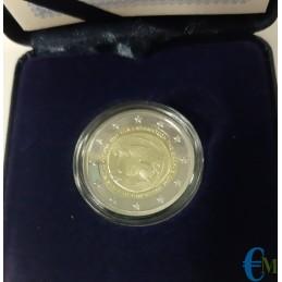 2 euro Proof 100° dell'annessione della Tracia alla Grecia da vicino