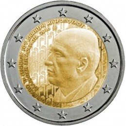 Grecia 2016 - 2 euro commemorativo 150° anniversario dalla nascita di Dimitri Mitropoulos