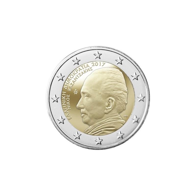 Grecia 2017 - 2 euro commemorativo 60° anniversario dalla morte di Nikos Kazantzakis