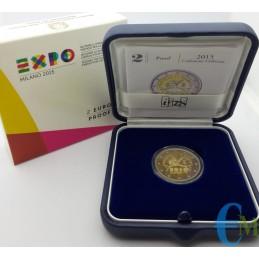 2 euro Proof World Expo Milano 2015