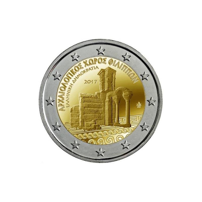 Grecia 2017 - 2 euro commemorativo sito patrimonio Mondiale.