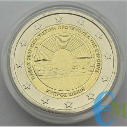 2 euro Pafos in capsula