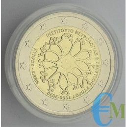 2 euro 30° Fondazione Istituto di Neurologia e Genetica in capsula