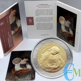 2 euro commemorativo 450° anniversario della nascita di Caravaggio