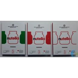 5 euro Eccellenze Italiane - Trittico Nutella sciolto - Bianca Verde Rossa