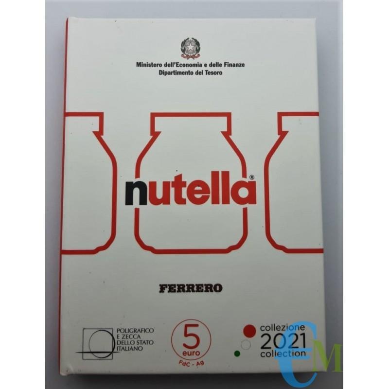 5 euro Eccellenze Italiane Nutella moneta Bianca