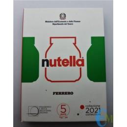 5 euro Eccellenze Italiane Nutella moneta Verde
