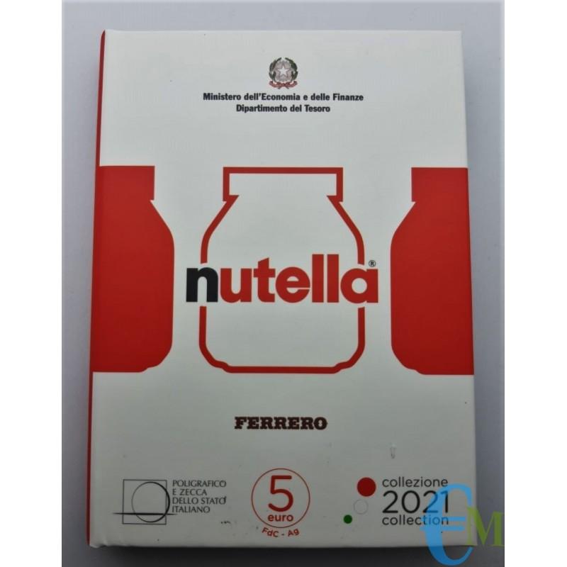 5 euro Eccellenze Italiane Nutella moneta Rossa
